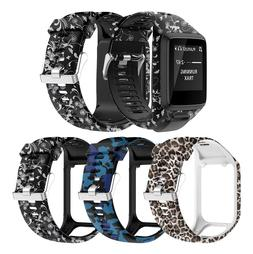 Printed Watchband Wrist Band <font><b>Strap</b></font> for <