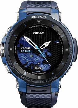 Casio ' Pro Trek' Quartz Stainless Steel and Resin Watch, Co