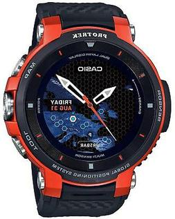 Casio Pro Trek Smart WSD F30 RG Orange G-shock Mens Watch Ge