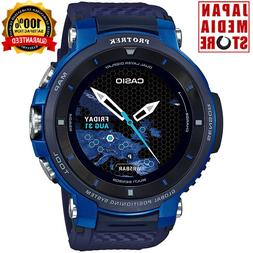 CASIO PRO TREK WSD-F30-BU Smart Outdoor Watch Android Wear S