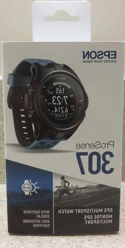 Epson ProSense 307 GPS Heart Rate Monitor Multisport Watch -