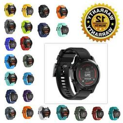 Quick Install Silicone Band Wrist Strap GPS Smart Watch For