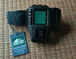 RARE 1st GPS Casio Protrek Digital Vintage Watch PRT-1 still
