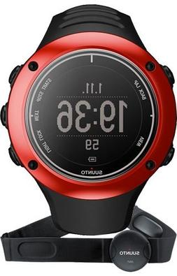 Suunto Red Ambit 2S Watch w/ Heart Rate Monitor