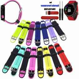 Replace Silicone Watch Band Bracelet For Garmin Forerunner 2