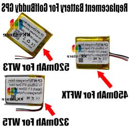 Replacement Battery For Golf Buddy WT3 WT5 WTX GPS Smart Wac