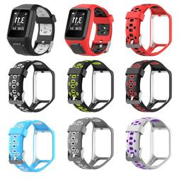 Replacement Silicone Band Strap For <font><b>TomTom</b></fon