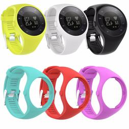 Replacement Silicone Strap Wrist Band Bracelet For Polar M20