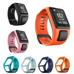 Replacement Silicone Wrist Band Strap For <font><b>TomTom</b