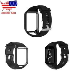 Replacement Silicone Wrist Band Strap For TomTom Runner 2 3