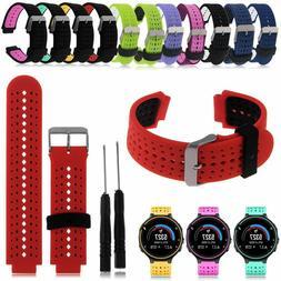 Replacement Wrist Watch Band Strap Garmin Forerunner 220 230