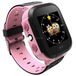 Safe GPS Tracker Smart Kids Child Watch Anti-lost SOS Call A
