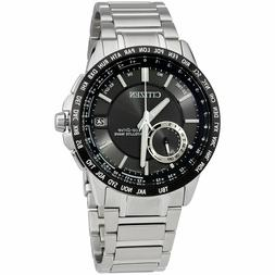 Men's Citizen Eco-Drive Satellite Wave World Time GPS Watch
