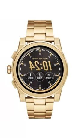SEALED MICHAEL KORS GRAYSON Gold Access Touchscreen Men's Sm