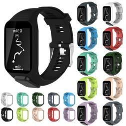 Silicone Accessory Replacement Band Wrist Strap ForTomTom Sp