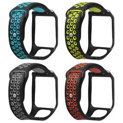 Silicone Replacement Watchband Wrist Band <font><b>Strap</b>
