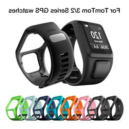 Silicone Replacement Watchband Wrist Band Strap for <font><b