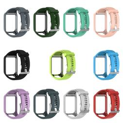 Silicone Replacement Wrist Band <font><b>Strap</b></font> Fo
