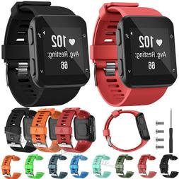 Silicone Replacement Wrist Strap Band For Garmin Forerunner