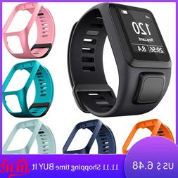 Silicone Replacement Wristband <font><b>Watch</b></font> Ban