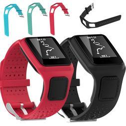 Silicone Square <font><b>Watch</b></font> Band Bracelet <fon
