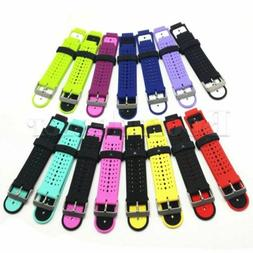 Soft Silicone Wrist Band Strap +Tool For Garmin Forerunner 2