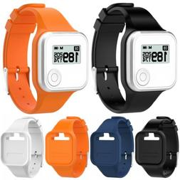Silicone Wristband Watch Strap Bracelet For Golf Buddy Voice