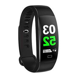 Buybuybuy Smart Bracelet,F64HR Fitness Tracker Heart Rate Bl