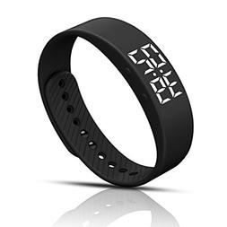 Smart Pedometer Watch Non-Bluetooth Vibration Alarm Sport Br