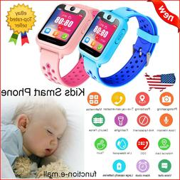 Smart Watch Anti-Lost Safe SOS GPS Phone For IOS Android Kid