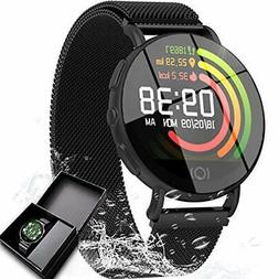 Smart Watch Fitness Tracker for Women Men Waterproof GPS Tra