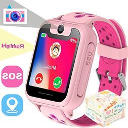 The perseids Kids Smart Watch GPS Tracker, Phone Wrist Watch