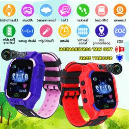 smart watch lbs gsm locator touch screen