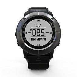 Hangang GPS Waterproof Smart Watch, Smart Outdoor Sports Wat