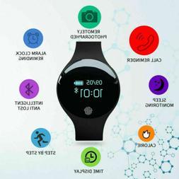 Smart Watch Men Women's Digital Pedometer Fitness Tracker Br
