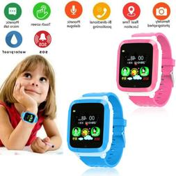 Smart Watch W/ GPS GSM Locator Tracker SOS Call Anti-lost Fo