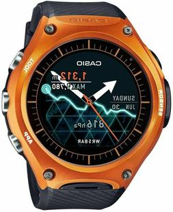 Casio 'Smartwatch' Quartz Resin Sport Watch, Color:Black