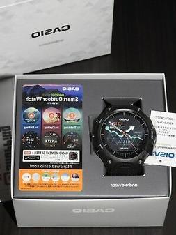 Casio Smartwatch WSD-F10BK Smart Outdoor Android Wear Black