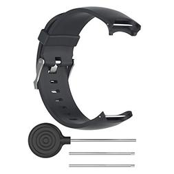 soft silicone band replacement strap