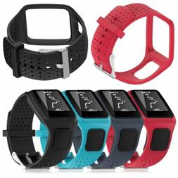 Soft Silicone Band Strap For TomTom Multi-Sport GPS Watch /