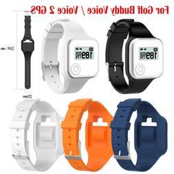 Soft Silicone Sports Bracelet Wristband Strap for Golf Buddy