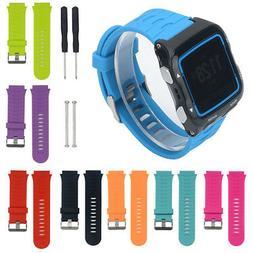 Soft Silicone Strap Watch Band Wristband  For Garmin Forerun