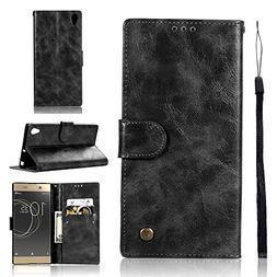Sony Xperia C6 Case, Sony Xperia C6 Cover Thin Flip Cover Ca