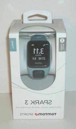 TomTom Spark 3 Aqua GPS Multisport Watch - Small Strap