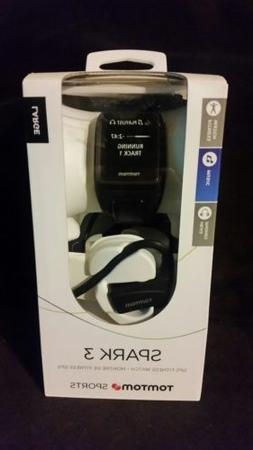 TomTom Spark 3 Black GPS With Headphones Multisport Watch -