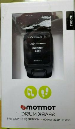 spark music gps fitness watch