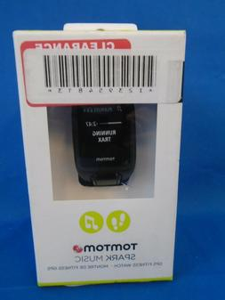 TomTom Spark Music GPS Watch Black, L