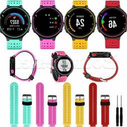 Sport Silicone Watch Band Strap For Garmin Forerunner 235/63