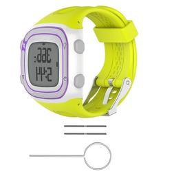 Sports Silicone Watch Wrist Band Strap Kit For Garmin Foreru