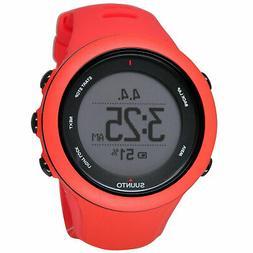 Suunto SS021468000 Ambit3 50MM Women's Digital Red Silicone